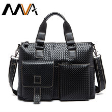 Genuine Leather Men Bags Men's Briefcase Crossbody Shoulder Handbags Male Laptop Bag Hot Sale Men Messenger Bags Man Travel Bag