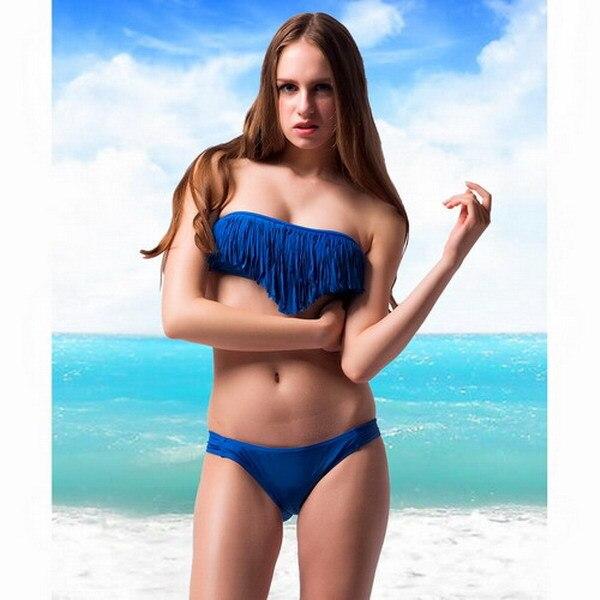Sexy fringe bikini
