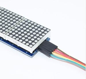 Image 3 - MAX7219 דוט מטריקס מודול מיקרו מודול 4 בתיבת תצוגה