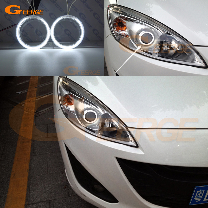 For Mazda 5 Mazda5 2012 2013 2014 2015 Excellent angel eyes Ultra bright illumination CCFL Angel Eyes kit Halo Ring bigbang 2012 bigbang live concert alive tour in seoul release date 2013 01 10 kpop