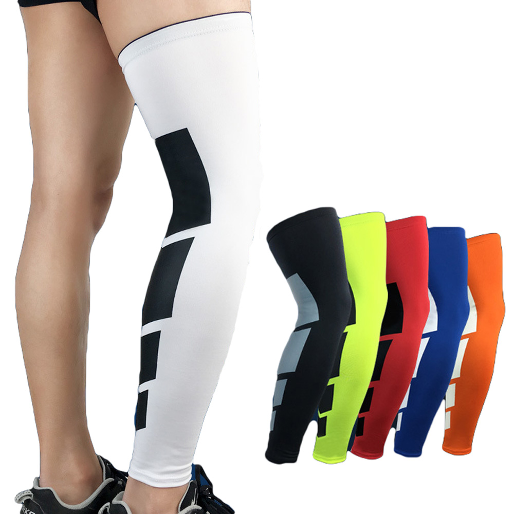 High Elasticity Breathable Sport Leg Sleeve Support Knee Pad  Protective Gear SPSLF0012