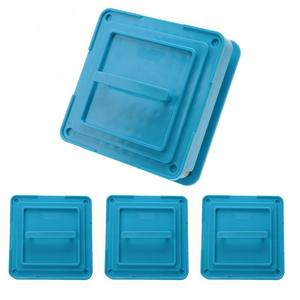 Image 5 - 4 Types 100 Holes Capsule Powder Maker 000# 00# 0# 1# Spreader Plates Manual Filling Capsules Machine Tool Blue