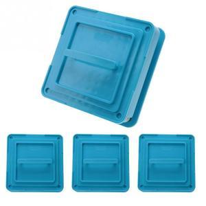 Image 5 - Máquina para fabricar polvos y cápsulas con 4 tipos de 100 agujeros, n. ° #1 #0 00, placas esparcidoras, cápsulas para rellenar Manual, herramienta azul
