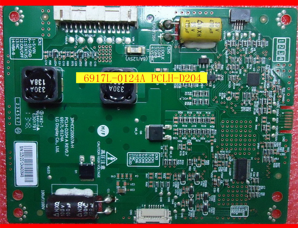 FOR LED constant current step-up board screen plate 6917L-0124A PCLH-D204 A is used the upgrade board rsag7 820 2317 roh led constant current output 4 pin used disassemble