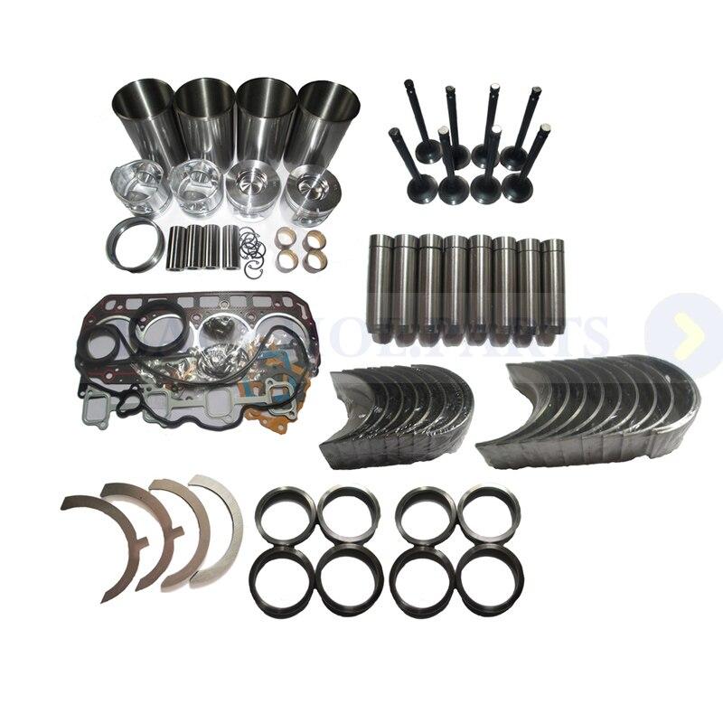 Kit de reconstrucción de reacondicionamiento de motor para motor CAT 428E 3054C