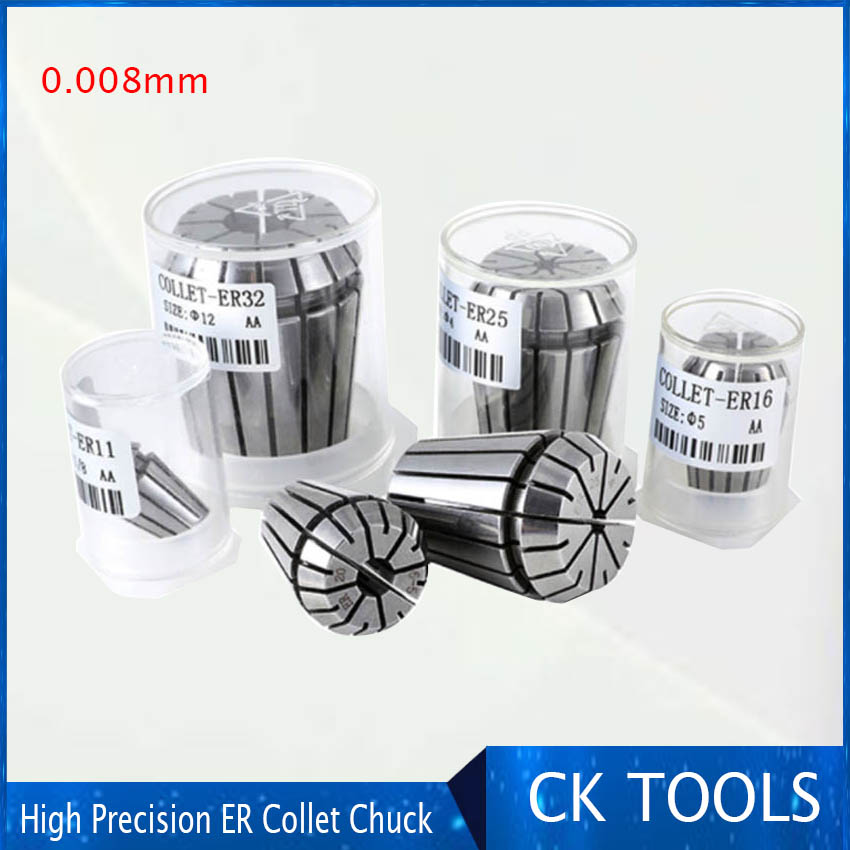 ER16 6mm Collet for CNC Milling Lathe Tool and Spindle Motor Super Precision