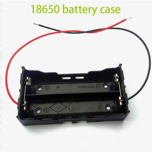 10pcs 9V Batteries Holder Storage Container Plastic Box Battery Organizer Clip Slot Holder Box Wire Lead Free Shipping