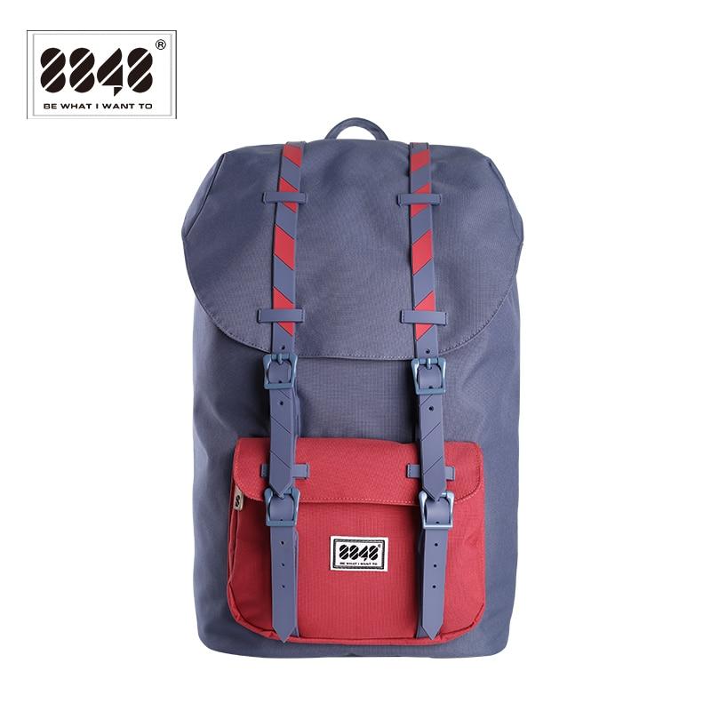 New 8848 Brand Backpacks For Travel Men Waterproof Oxford Polyester Material Unisex Women Back soft 111-006-011