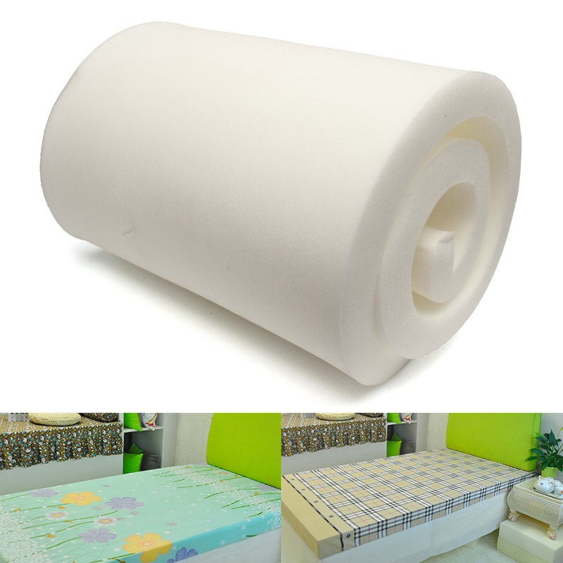 Delightful High Density Foam Firm Foam Upholstery Foam Chair Cushion Furniture  Replacement Pad 7.5x60x200cm