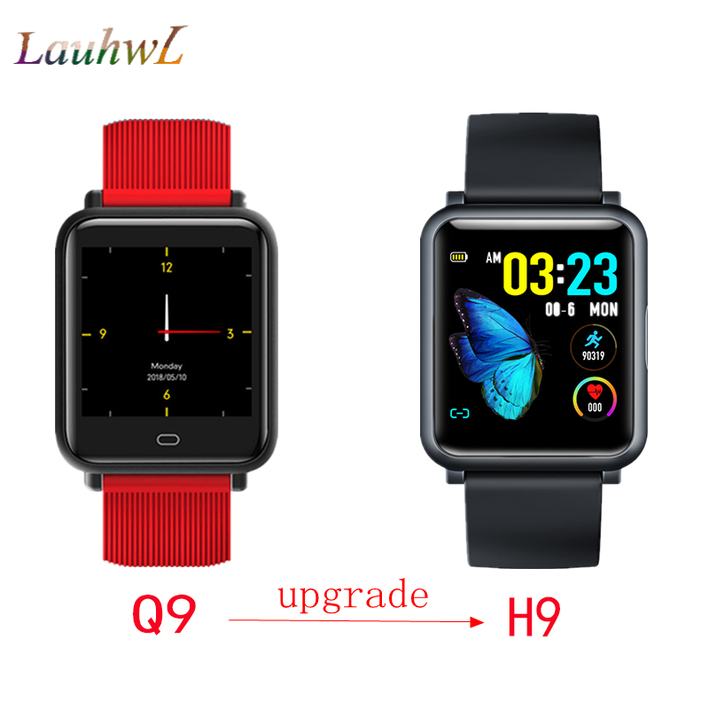 Q9 Upgrade H9 1 3 ECG PPG Monitor HR Blood Pressure Smart watch Waterproof IP67 Multi