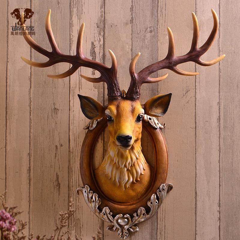 Wanlang Lucky Deer Pendant Wall Mural