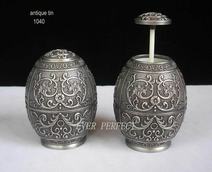 Античный металлический держатель для зубочисток из цинкового сплава, органайзер, посуда, украшение дома 1040
