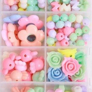1 Box Acrylic Beads Set Access