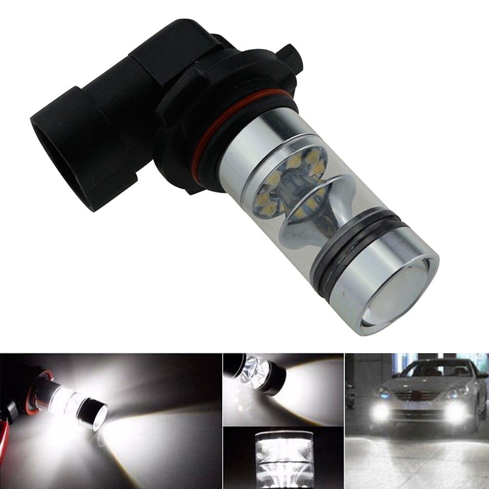 TSLEEN 4pcs New Car LED Fog Lamps 1000LM 9005 HB3 Auto Foglight DRL Headlight Daytime Running Light Lamp Bulb 6000K White 12-24V