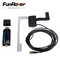 FUNROVER DAB+ usb dongle with antenna for Android car dvd player car radio gps with 6.0 or 7.11os and DAB application easy use