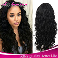 Synthetic Lace Front Wig With Baby Hair Full Lace Synthetic Wigs For Black Women Long Black Curly Wig Perruque Synthetic Women