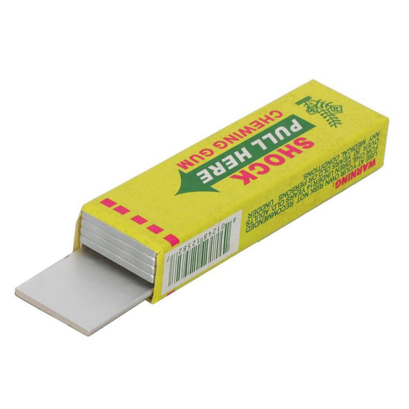 1pcs Electric Shocking Hand Chewing Gum Shocker Prank Trick Toy Joke Funny Novelty Toys Anti-stress Shock Gaget Gaps Toys 7
