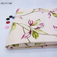 CMCYILING 100*150cm botanical Cotton Canvas Fabric Sofa Fabrics Patchwork Cotton Tissue Home Textile Woven Telas Tecido Sewing