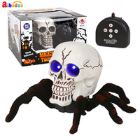 Infrared RC Animal Toys Kids Toy Simulation Skull Spider Robort Electric RC Toy Halloween Gift For Adult Funny Toys For Child