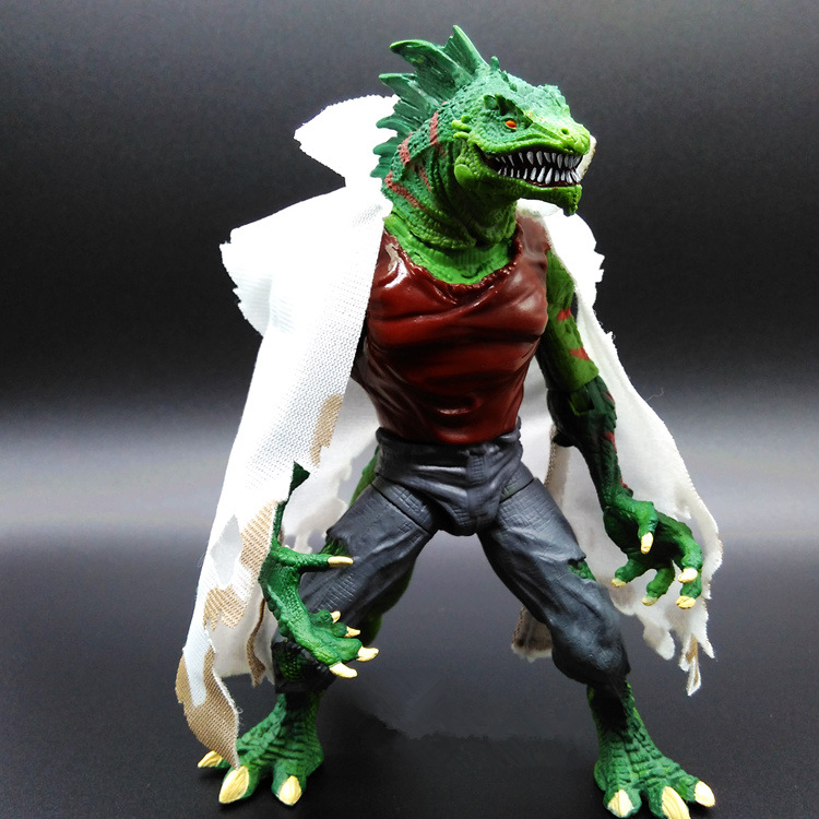 Hot Toy Juguetes The <font><b>Amazing</b></font> Spider-man <font><b>2</b></font> - Lizard Hero Action Figure <font><b>Spiderman</b></font> Collectible PVC Model Toy Joints Doll for Kids