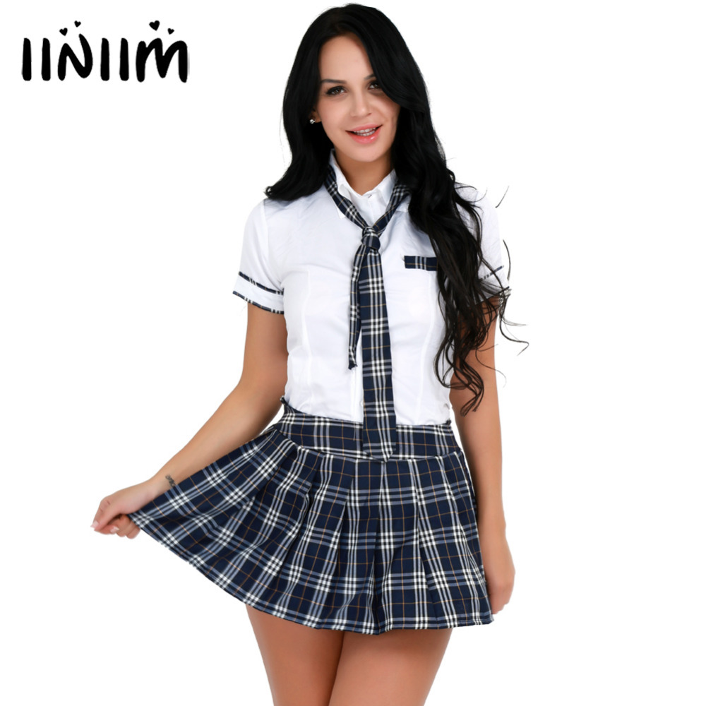 48006af450b244 Großhandel plaid school girl costume Gallery - Billig kaufen plaid ...