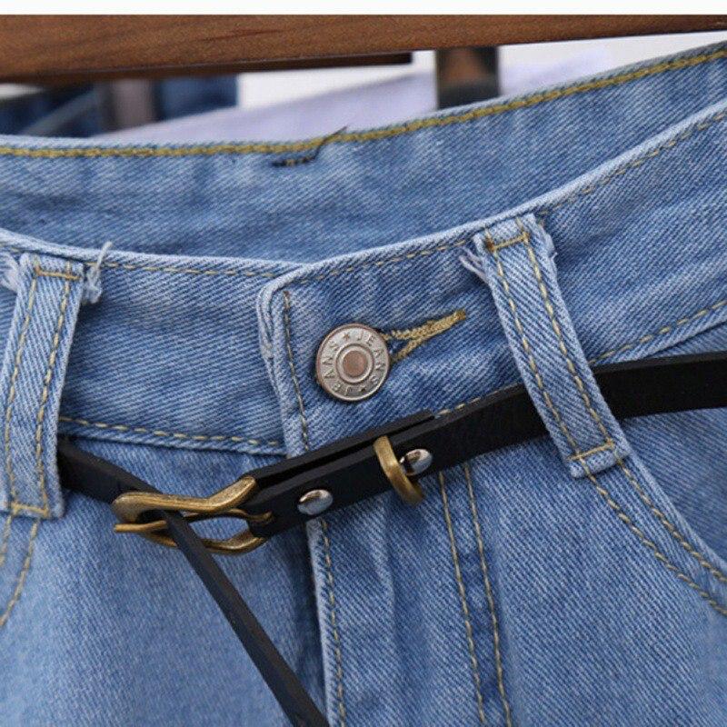 Euro Style Women Denim Shorts Vintage High Waist Cuffed Jeans Shorts Street Wear Sexy Shorts For Summer Spring Autumn