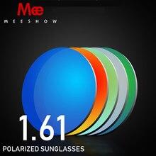 4df484b45c 1.61 INDEX Resin lenses Myopia polarized Sunglasses Lenses Colorful Mirror  Lens For custom lens