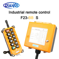 Industrial Wireless Radio remote controller switch 1receiver+ 1transmitter speed control Hoist Crane Control Lift Crane F23 BB