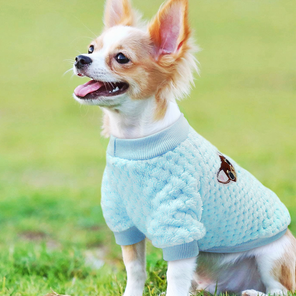 Puppy Dog Clothes Winter Warm Pet Cat Clothes Chihuahua Yorkshire Small Dogs Cats Coat Pets Clothing Outfit Ropa Perro Schnauzer in Dog Coats Jackets from Home Garden