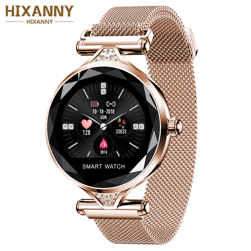 2019 Arvin H1S Women Fashion Smartwatch Wearable Device Bluetooth Pedometer Heart Rate Monitor For Android/IOS Smart Bracelet