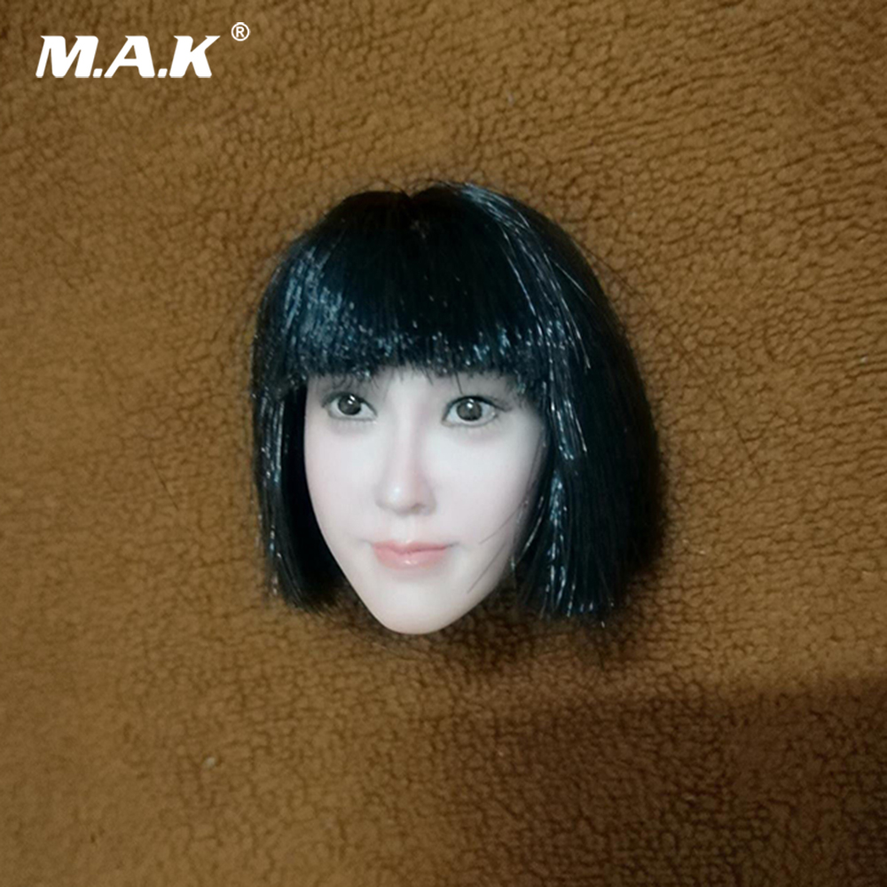 Us 47 64 8 Off 1 6 Scale Female Accessory Asian Girl Qi Liuhai Big Face Head Sculpt For 12 Pale Female Figure Body In Action Toy Figures From
