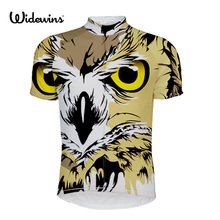 NEW Owl brand Tee Shirt Sport T-shirts Men 's Bicycle Cycling Jersey shirt Sport Owl Cycle Jersey Cycling Short Sleeves 5504 цена