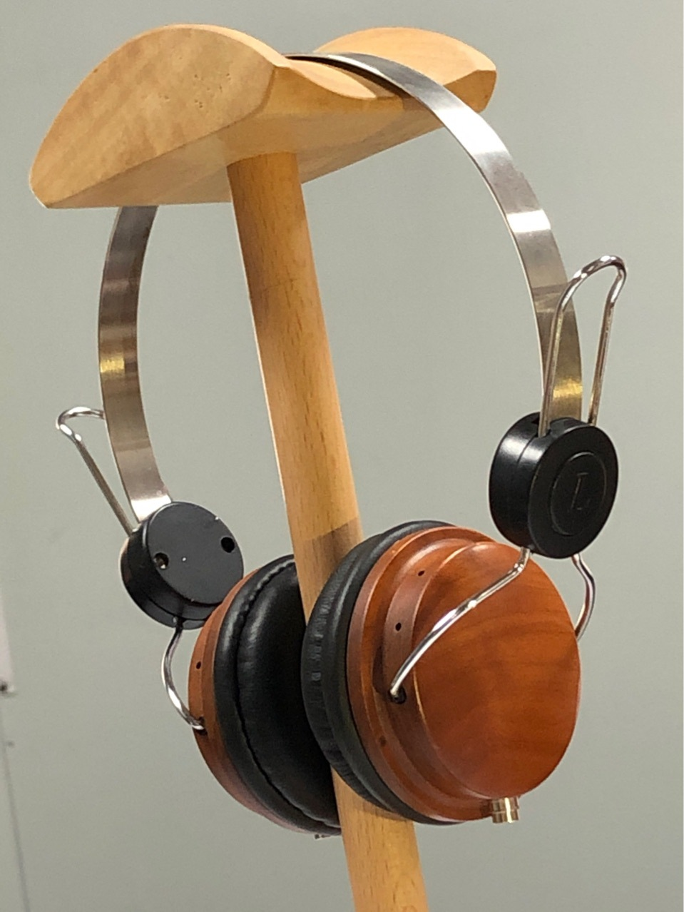 Casque bois massif casque stéréo casque bois cerise casque shell bricolage casque HiFi