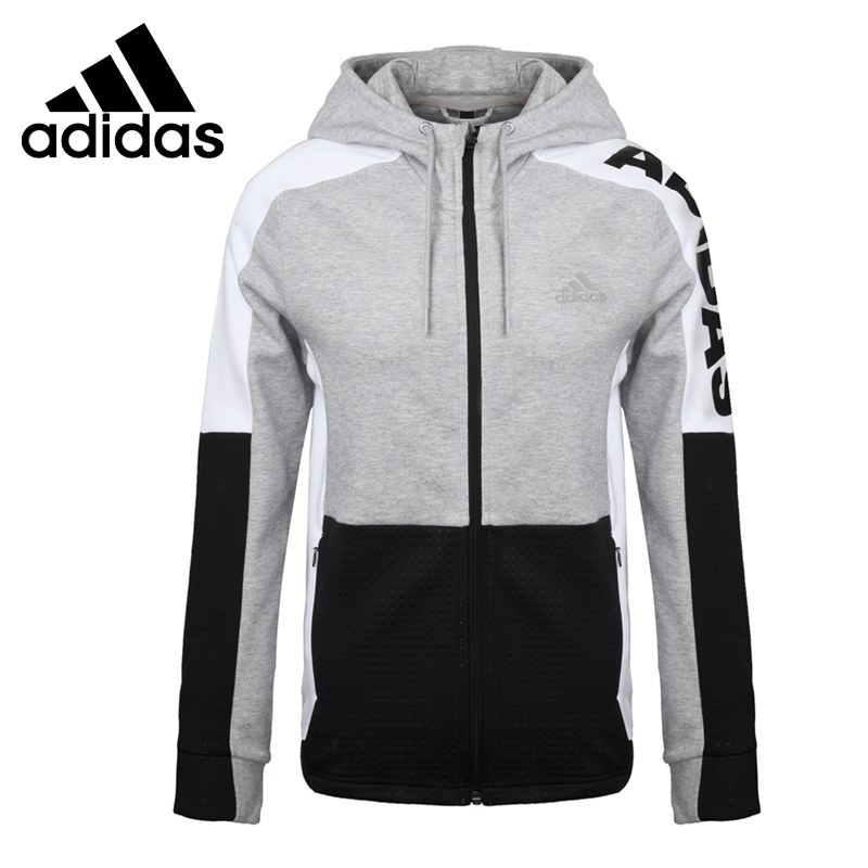 Original New Arrival Adidas MV JKT WARM MIX Women's jacket Hooded Sportswear 925 silver plated flower necklace
