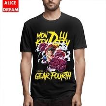 Lufft t shirt For Male Monkey D Tee Shirt 3D Print T-Shirt Organic Cotton BONADIAO Tshirt monkey print tee