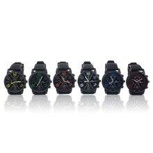 New Mens Stainless Steel Luxury Sport Analog Quartz Clock Wrist Watch relogio feminino erkek kol saati