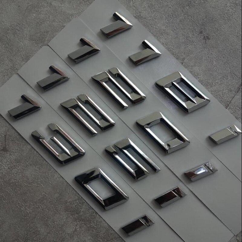 Embl/ème en ABS chrom/é brillant pour coffre de voiture 116i 128i 118i 120i 125i 135i 130i