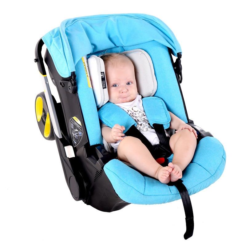 Baby basket safety car seat 3 in 1 baby stroller newborn car cradle portable sitting recliner 55cm 43cm 68cm kids basket type child car safety seat newborn baby sitting type safety seat inflant safety seat