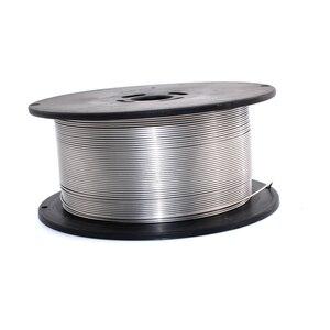 Image 2 - Аксессуары для сварочных аппаратов MIG MAG, 1 кг, 0,8 мм/1,0 мм/1,2 мм, нержавеющая сталь, сварочная проволока MIG/стандартная