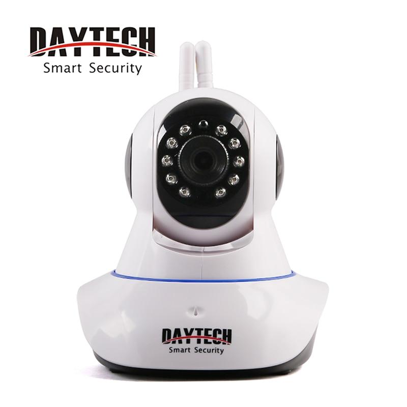Daytech IP Camera WiFi 720P Home Security Surveillance Camera Wireless Network Monitor Two Way Intercom Day