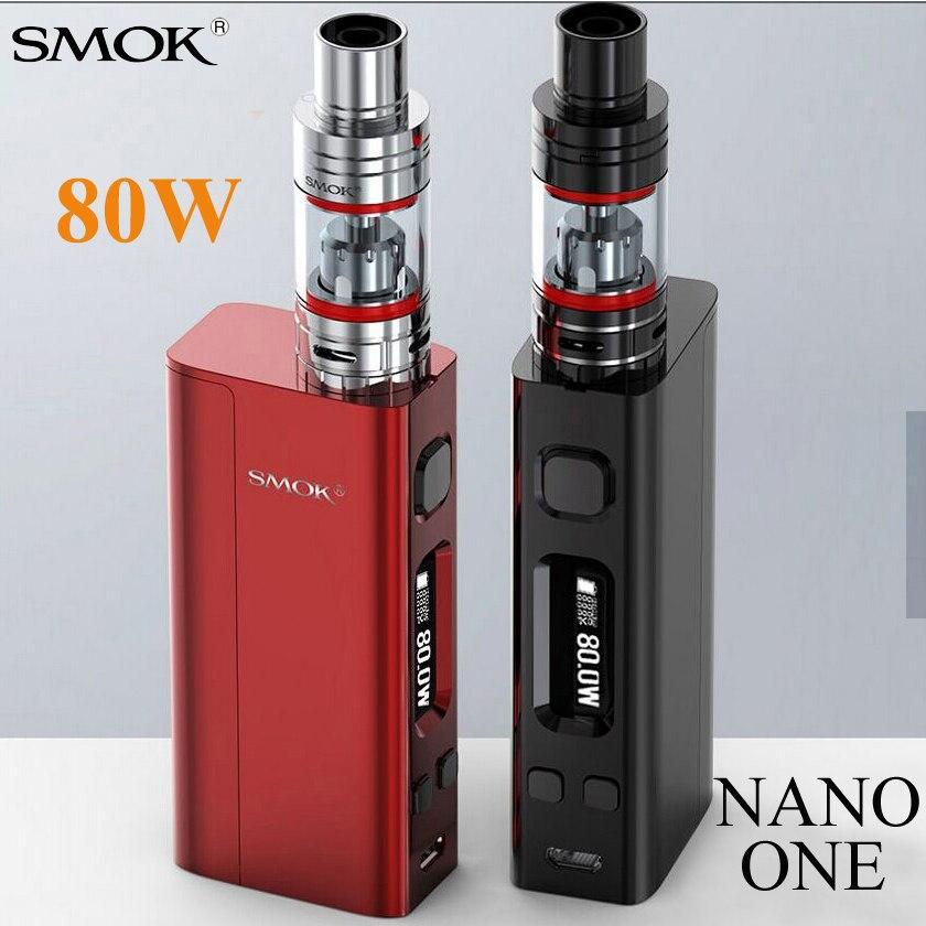 Vape Electronic Cigarette Shisha Pen NANO ONE 80W Vape Kit Mech Box Mod E Hookah For