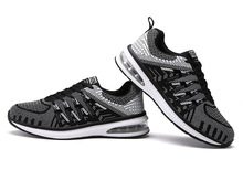 2018 New AIR Women Running Shoes for Men High Quality Sneakers Breathable Mesh Sports Shoes with Flywire Outdoor Trainer Shoes