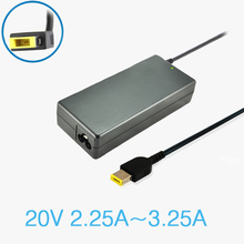 20 v 2.25a 45 w ordinateur portable ac adaptateur chargeur pour lenovo/thinkpad adlx45nlc3 adlx45ndc3a adlx45ncc3a 0c19880 59370508