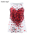 2-7T Baby Girls Dress Children Clothes Print Flowers European and american style Sleeveless A-Line for Party holiday