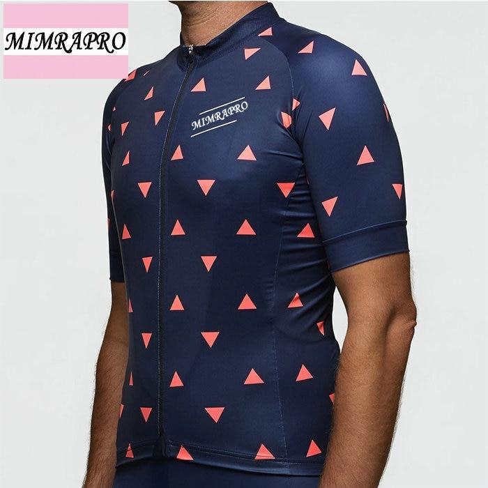 Crveni ukras Biciklističke majice kratkih rukava Maillot Ciclismo - Biciklizam