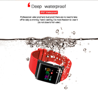 Smartch X9 Pro Colorful Screen Smart Wristband Passometer Blood Pressure Watch Sport Bracelet Heart Rate Tracker