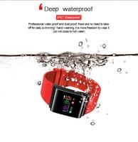 Smartch X9 Pro Colorful Screen Smart Wristband Passometer Blood Pressure Watch Sport Bracelet Heart Rate Tracker