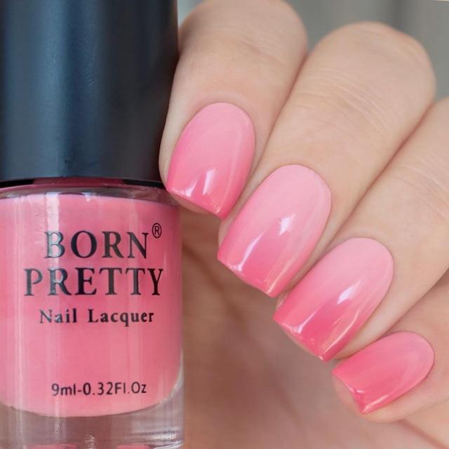 BORN PRETTY 9ml Temperature Color Changing Varnish Thermal Nail ...