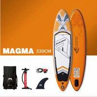 AQUA MARINA MAGMA Sup Prancha de Surf Placa de Surf Sup Inflável Levantar Paddle Board Surf Paddleboard Com Corda de Segurança Acidente Vascular Cerebral