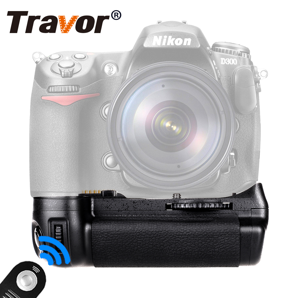 Travor Vertical Battery Grip for Nikon D300 D300S D700 DSLR Camera as MB-D10 +Universal remote control as a gift for free original camera d300 power board for d300 dc dc powerboard for nikon d300 powerboard repair parts free shipping